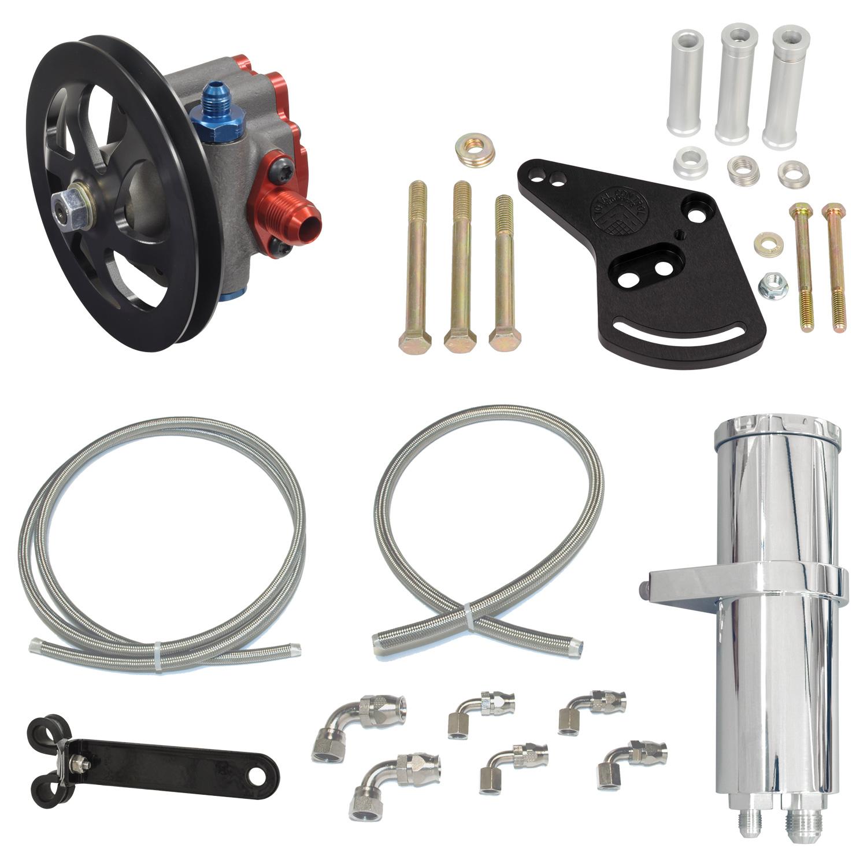 BILLET SPEC Power Steering Hose Kit for Remote Reservoir